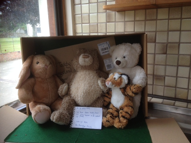 20180620 The Berridge family kindly sent these bears to us