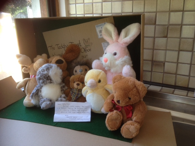 Thanks Harriet for sending these lovely soft teddies!