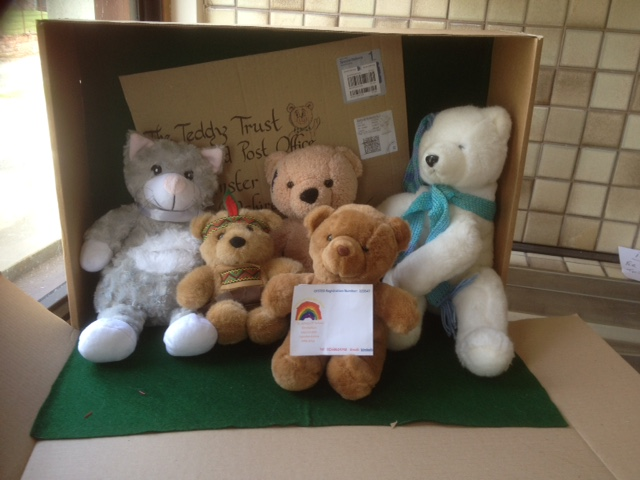 20180620 Some lovely teddies kindly collected snd sent by Kimbolton Primary School