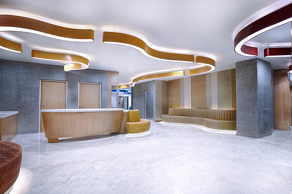 Radiology Department SIMC lobby design