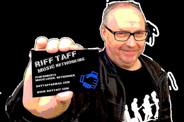 Riff Taff Music Networking, Ivan Roberts, Riff Taff