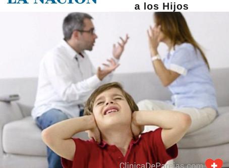 Discutir frente a los hijos - Diario La Nación