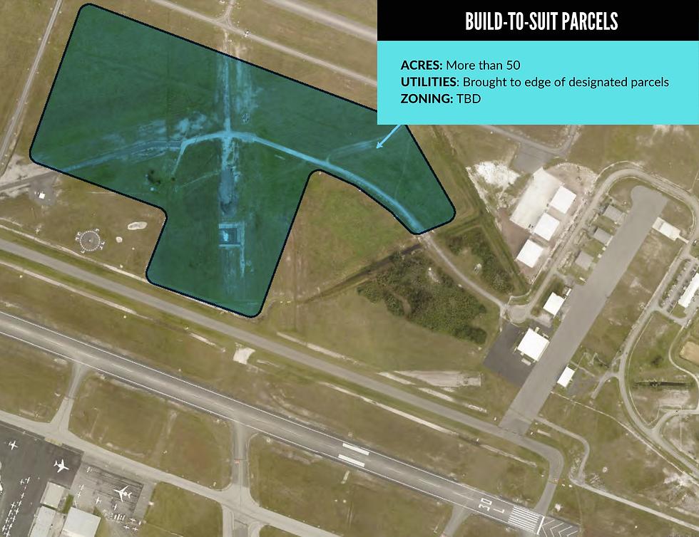 Vero Beach Airport Parcel Map -  Build to Suit Parcels (1).png