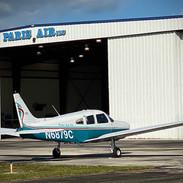 Paris Air, located at Vero Beach Regional Airport