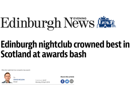 Why Not Nightclub: Scotland's Best Nightclub 2018