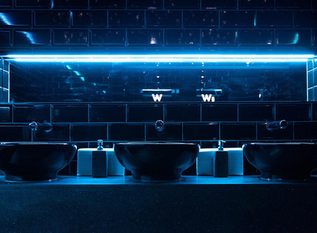 New look lavatory for Edinburgh's best nightclub