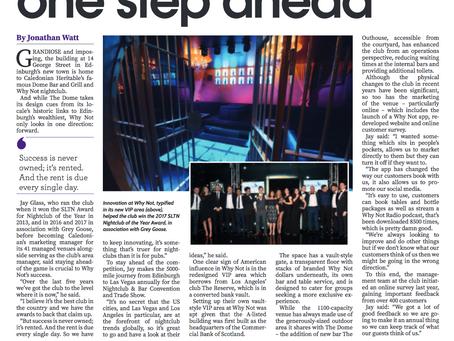 Why Not Nightclub: Always one step ahead...