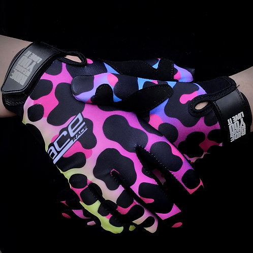 Youth Gloves - Leopard Print Edition