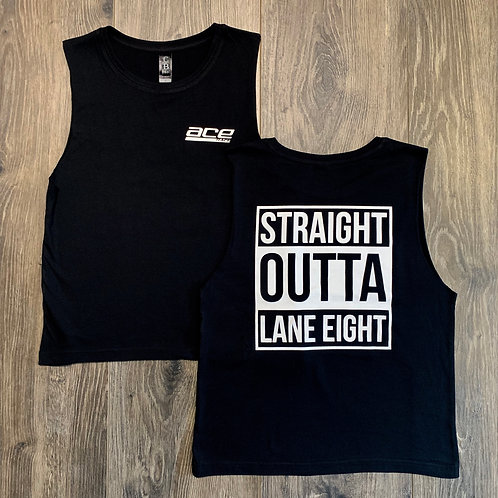 Youth Muscle Tee - Straight Outta Lane Eight