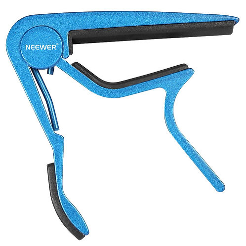Neewer® Single Handed Zinc Alloy Guitar Capo Quick Change (Blue)