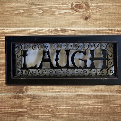 Laugh Wall Decor