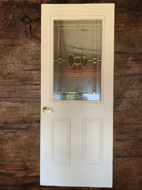 Door with Window Pane
