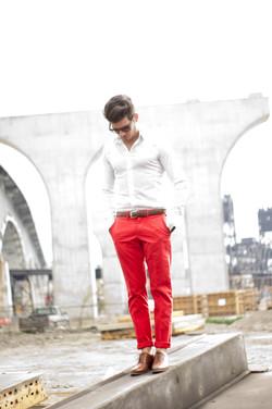 Male Model Fashion Shoot
