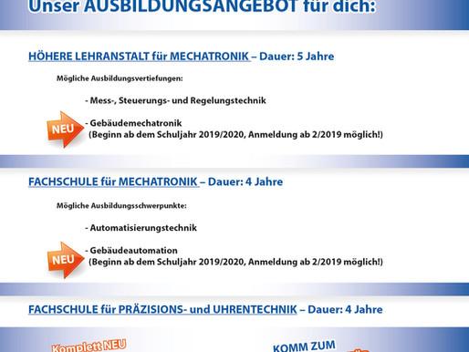 NEU an der HTL Karlstein: Gebäudemechatronik & Gebäudeautomation