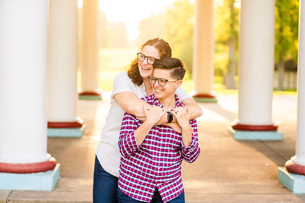 Tower Grove Park Engagement Pictures