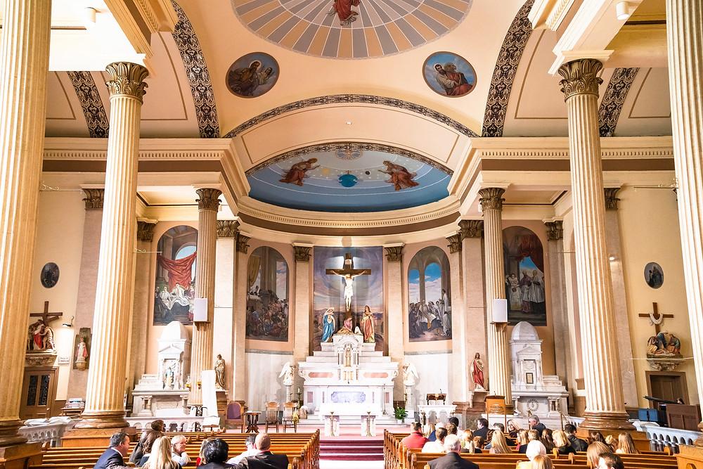 Interior of St. Vincent De Paul Catholic Church, St. Louis