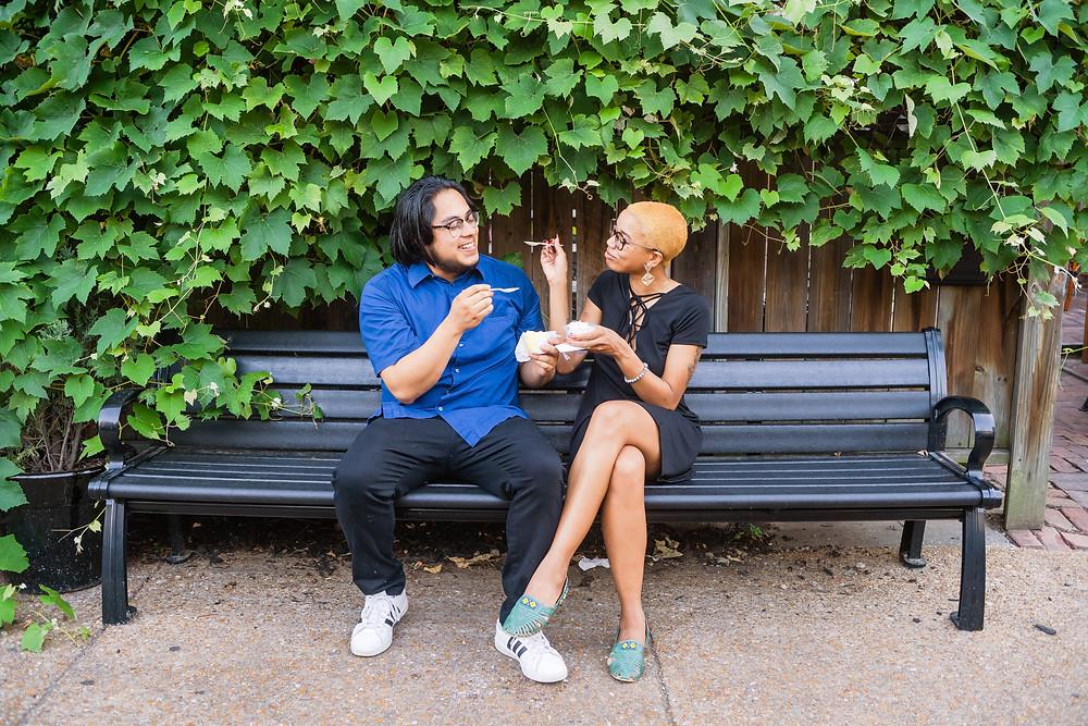 Lafayette Square Park engagement session