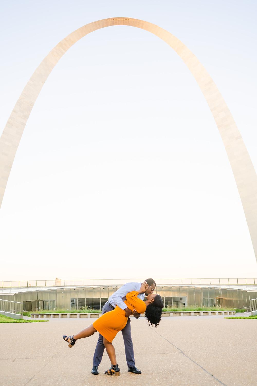 St. Louis, MO engagement session