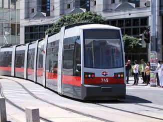 Bus/Straßenbahn - 100 m