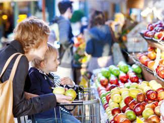 Supermarkt - 120 m