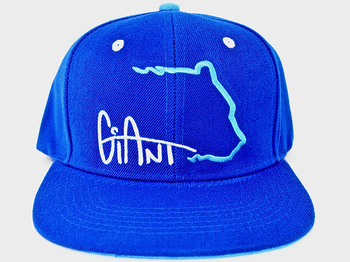 Giantborn Grizzly Hat - Blue/Lt Blue