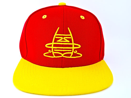 Giantborn Mirrored Hat - Red/Yellow