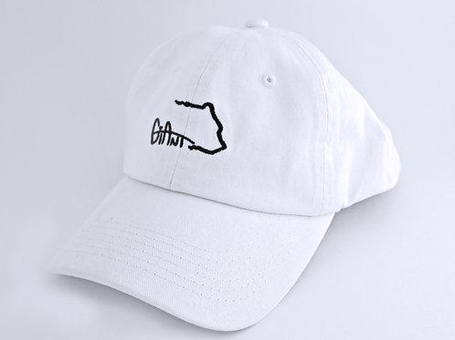 Dad Hat - White/Navy