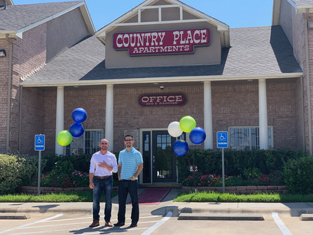 Closing of Country Place Apartments!!