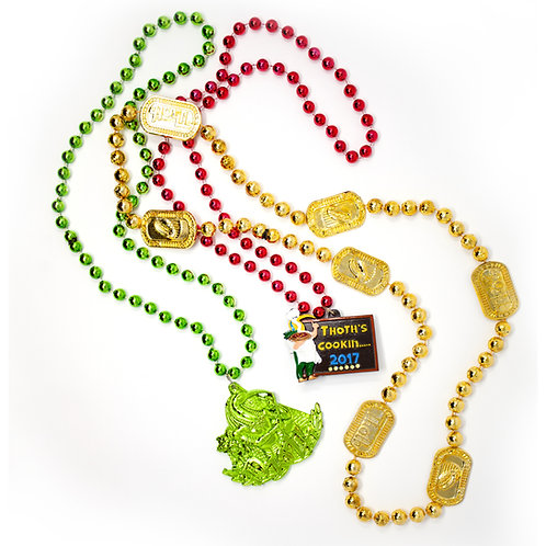 Krewe of Thoth Beads