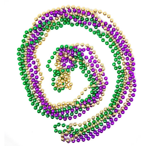 "X-Long Metallic Beads (60-100"")"