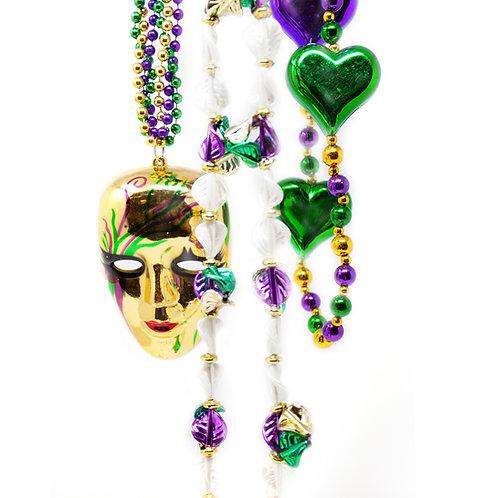 Mardi Gras Themed Beads