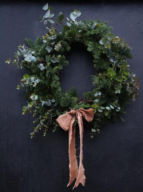 Mega Rebel  Christmas Door Wreath.