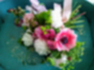 June Bouquet with Peonies Anemones and P