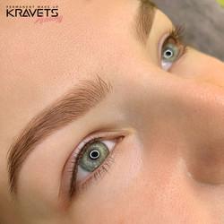 Перманентный макияж бровей и межресничка