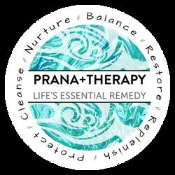 Prana+Therapy Re-brand Logo Design