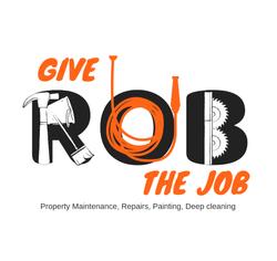 Give Rob the Job Logo Design