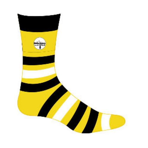 SeattleTALK Striped Dress Socks