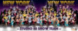 Portrait of a Dance studio's show team