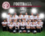 Portrait of a little league football team
