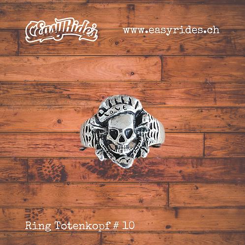 Totenkopfring #10
