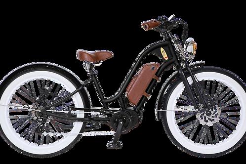Vacay Lady E-Bike schwarz mit Mittelmotor