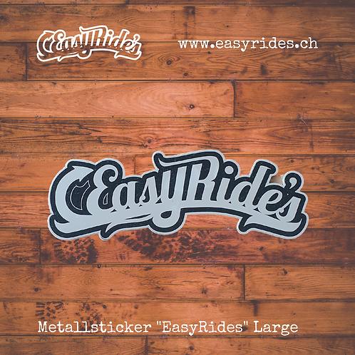 "Metallsticker ""EasyRides"" Large"