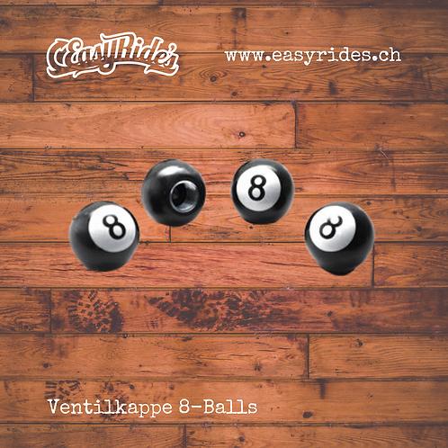 Ventilkappen Billiard Kugel 8-Ball
