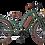 Thumbnail: Vacay Lady E-Bike grün mit Mittelmotor