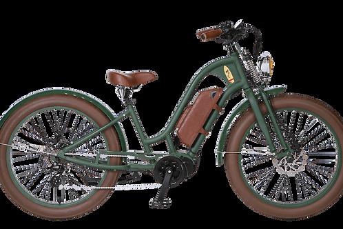 Vacay Lady E-Bike grün mit Mittelmotor