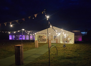 Welcome to the marquee party