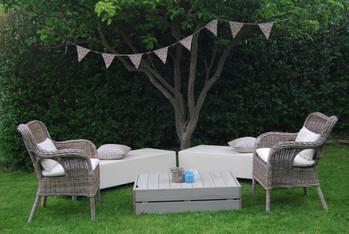 Garden party outdoor furniture