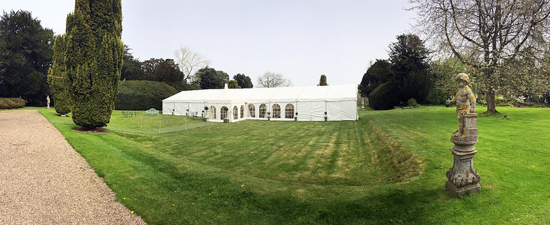 Beautiful Marquee setting