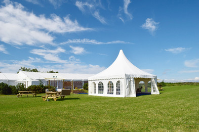 Sunny marquee day