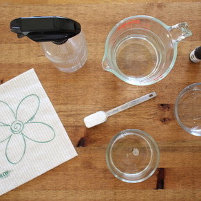 Clean Naturally with Homemade Products